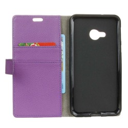Mobilplånbok 2-kort HTC U11 Life Lila