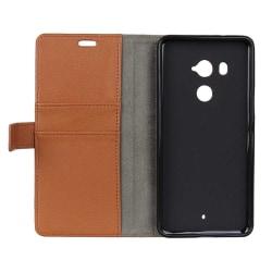 Mobilplånbok 2-kort HTC U11 PLUS Brun