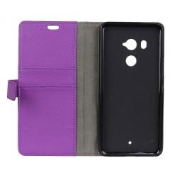 Mobilplånbok 2-kort HTC U11 PLUS Lila