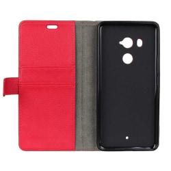 Mobilplånbok 2-kort HTC U11 PLUS Röd