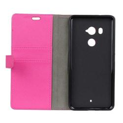 Mobilplånbok 2-kort HTC U11 PLUS Rosa