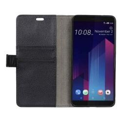 Mobilplånbok 2-kort HTC U11 PLUS Svart