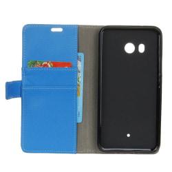 Mobilplånbok 2-kort HTC U11 Blå