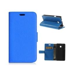 Mobilplånbok 2-kort Huawei Ascend Y330 Blå