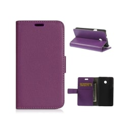 Mobilplånbok 2-kort Huawei Ascend Y330 Lila