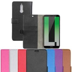 Mobilplånbok 2-kort Huawei Mate 10 Lite (RNE-L21) Röd