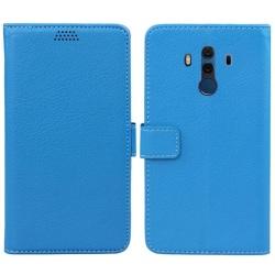 Mobilplånbok 2-kort Huawei Mate 10 Pro (BLA-L29) Blå