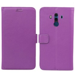 Mobilplånbok 2-kort Huawei Mate 10 Pro (BLA-L29) Lila