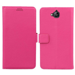 Mobilplånbok 2-kort Huawei Y6 Pro (TIT-L01) Rosa