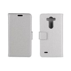 Mobilplånbok 2-kort LG G3s (D722) Vit