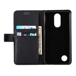 Mobilplånbok 2-kort LG K10 2017 (M250) Svart