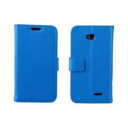 Mobilplånbok 2-kort LG L70 / L65 (D280) Blå