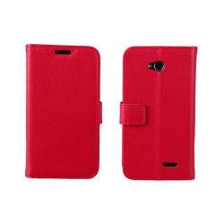 Mobilplånbok 2-kort LG L70 / L65 (D280) Röd