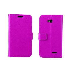 Mobilplånbok 2-kort LG L70 / L65 (D280) Lila