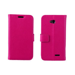 Mobilplånbok 2-kort LG L70 / L65 (D280) Rosa