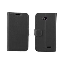 Mobilplånbok 2-kort LG L70 / L65 (D280) Svart