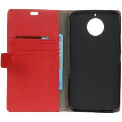 Mobilplånbok 2-kort Motorola Moto G5s (XT1794) Röd