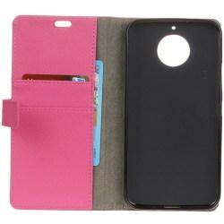 Mobilplånbok 2-kort Motorola Moto G5s (XT1794) Rosa