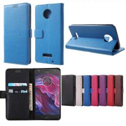 Mobilplånbok 2-kort Motorola Moto X4 (XT1900) Röd