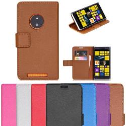 Mobilplånbok 2-kort Nokia Lumia 830 (RM-984) Vit