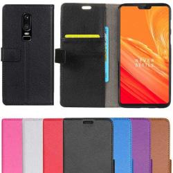 Mobilplånbok 2-kort OnePlus 6 (A6000) Rosa