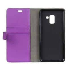 Mobilplånbok 2-kort Samsung Galaxy A6 2018 (SM-A600F) Lila
