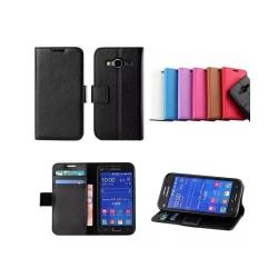 Mobilplånbok 2-kort Samsung Galaxy Core Prime (SM-G360F) Svart