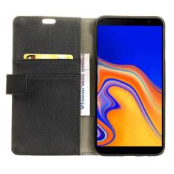Mobilplånbok 2-kort Samsung Galaxy J4 Plus 2018 (SM-J415F) Svart