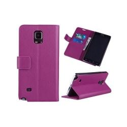 Mobilplånbok 2-kort Samsung Galaxy Note 4 (SM-N910F) Lila