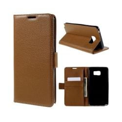 Mobilplånbok 2-kort Samsung Galaxy Note 5 (SM-920C) Brun