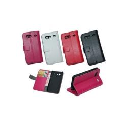 Mobilplånbok 2-kort Samsung Galaxy S Advance (GT-i9070) Vit