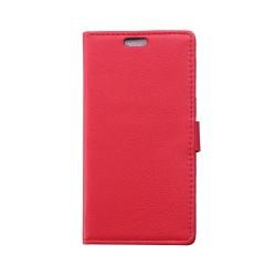 Mobilplånbok 2-kort Samsung Galaxy S6 Active (SM-G890F) Röd
