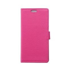 Mobilplånbok 2-kort Samsung Galaxy S6 Active (SM-G890F) Rosa