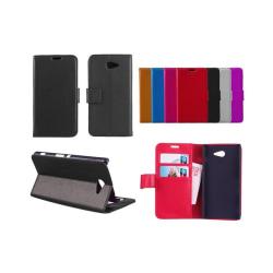 Mobilplånbok 2-kort Sony Xperia M2 (D2303) Brun