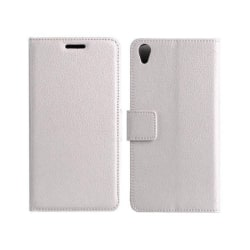 Mobilplånbok 2-kort Sony Xperia M4 Aqua (E2303) Vit