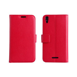 Mobilplånbok 2-kort Sony Xperia T3 (D5103) Röd