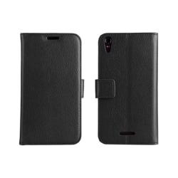 Mobilplånbok 2-kort Sony Xperia T3 (D5103) Svart