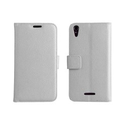 Mobilplånbok 2-kort Sony Xperia T3 (D5103) Vit