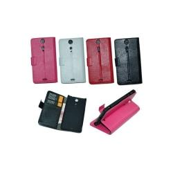 Mobilplånbok 2-kort Sony Xperia TX (LT29i) Svart
