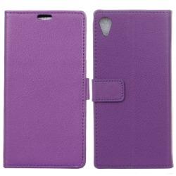 Mobilplånbok 2-kort Sony Xperia XA (F3111) Lila