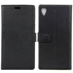 Mobilplånbok 2-kort Sony Xperia XA (F3111) Svart
