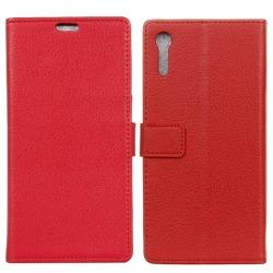 Mobilplånbok 2-kort Sony Xperia XZ / XZs (F8331) Röd