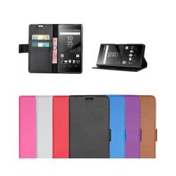 Mobilplånbok 2-kort Sony Xperia Z5 Compact (E5823) Vit