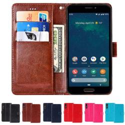 "Mobilplånbok 3-kort Doro 8080 (5.7"") Ljusblå"