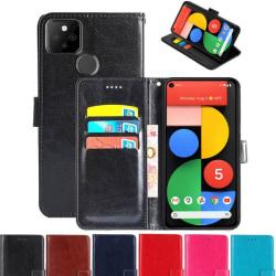 Mobilplånbok 3-kort Google Pixel 5 Svart