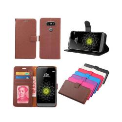 Mobilplånbok 3-kort LG G5 Brun
