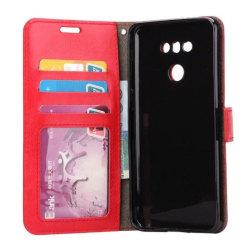 Mobilplånbok 3-kort LG G6 (H870) Röd