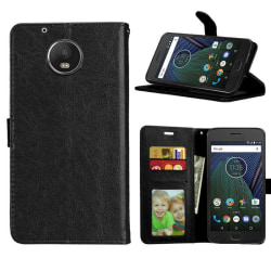 Mobilplånbok 3-kort Motorola Moto G5 Plus (XT1683) Svart