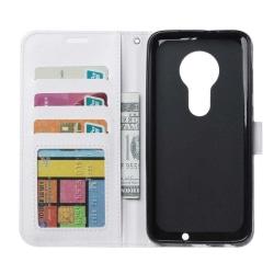 Mobilplånbok 3-kort Motorola Moto G7 Play (XT1952) Vit