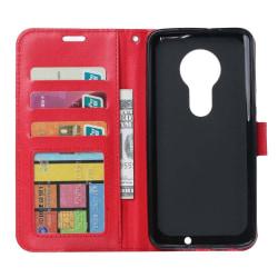 Mobilplånbok 3-kort Motorola Moto G7 Play (XT1952) Röd